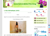 Beautyblondetest The Blog