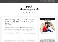 Maman Geekette