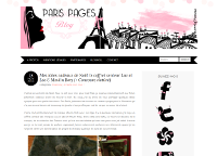 Paris Pages