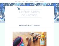 Le Bloc-Notes de Carmen