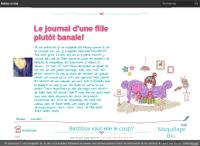 Le Journal d'une Fille Plutôt Banale!