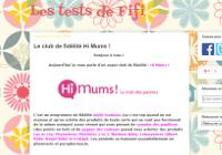 Les Tests de Fifi